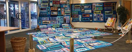 IBS2 Travelling Exhibition: The Ludlow Quilters' Show
