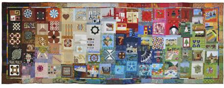 "The ""Where do you come from?"" QuiltThe ""Where do you come from?"" Quilt"